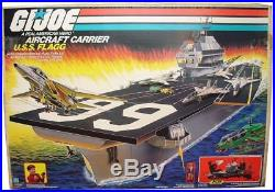 G. I. JOE 1985 Porte-avions Aircraft Carrier U. S. S. Flagg
