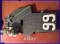 G. I. JOE USS FLAGG Vintage Figure Vehicle Playset Aircraft Carrier COMPLETE 1985