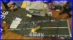 G. I. Joe 1985 Original U. S. S. Flagg Aircraft Carrier 80% Complete
