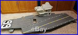 G. I. Joe 1985 USS FLAGG Aircraft Carrier Complete Bridge Superstructure & Decks
