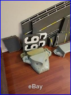 G. I. Joe USS Flagg Aircraft Carrier parts lot