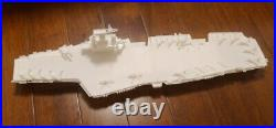 GAGA 1/350 French aircraft carrier Charles de Gaulle R91/Rafale, E-2C(waterline)