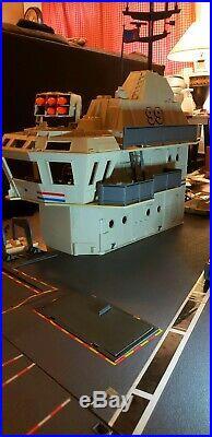 GI JOE USS FLAGG AIRCRAFT CARRIER 99.9% Complete