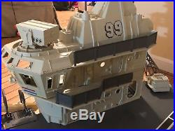 GI JOE USS FLAGG Aircraft Carrier-including Captain Keel Haul