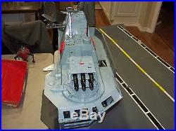 GI JOE USS FLAGG COBRA CUSTOM Vintage Vehicle Aircraft Carrier 1985
