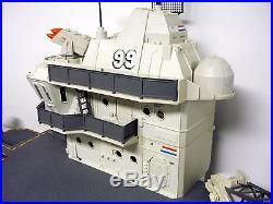 GI JOE USS FLAGG Vintage Figure & Vehicle Playset Aircraft Carrier COMPLETE 1985