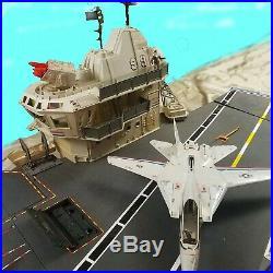 GI JOE USS Flagg Aircraft Carrier Playset with Skystriker Jet Real American Hero