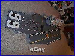 GI Joe 1985 USS Flagg Aircraft Carrier Compete Fantail Railing Microphone Mast