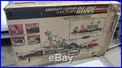GI Joe Flagg Aircraft Carrier. ORIGINAL BOX ONLY, with 4 inserts, good cond