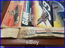 GI Joe ORIGINAL BOX for USS Flagg Aircraft carrier