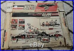 GI Joe ORIGINAL BOX for USS Flagg Aircraft carrier Ship not included
