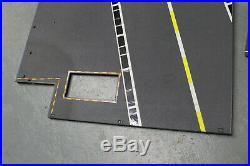 GI Joe USS FLAGG Aircraft Carrier 1985 Flight Deck 2 pc. Lot Original Vintage