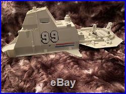GI Joe USS FLAGG Aircraft Carrier Large Parts Lot Original Vintage Hasbro (8 Pc)