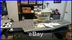 GI Joe USS FLAGG Aircraft Carrier Near Complete, Great Shape All Original SFB