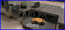 GI Joe USS FLAGG Aircraft Carrier Near Complete with Instructions All Original