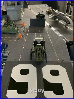 GI Joe USS FLAGG Aircraft Carrier Vintage Hasbro 1985 ARAH Complete