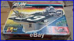 GI Joe USS Flagg Aircraft Carrier. Original BOX ONLY with inserts, good cond