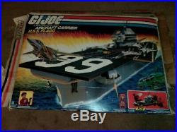 GI Joe USS Flagg Aircraft Carrier With Box