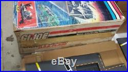 GI Joe USS Flagg aircraft Carrier w box, inserts, most parts, in exellent cond