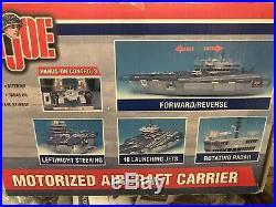 GI Joe USS Saratoga Aircraft Carrier 2001 Hasbro IN BOX NRFB US Navy