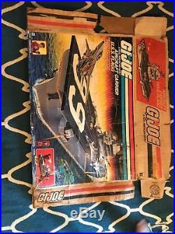 GI Joe Uss Flagg Aircraft Carrier BOX ONLY