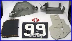 GI Joe Vehicle USS FLAGG Aircraft Carrier w Bright 1985 Beautiful Original BOX