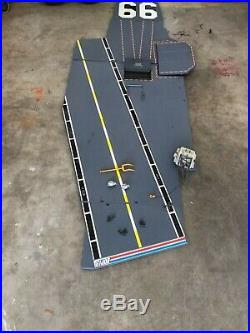 GIJoe USS Flagg aircraft carrier deck only plus parts