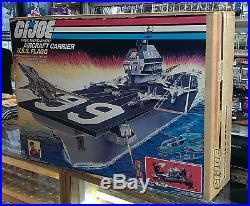 Gi Joe 1985 USS Flagg Aircraft Carrier & Keel Haul FACTORY SEALED VERY RARE