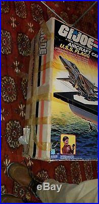 Gi Joe 1985 USS Flagg Aircraft Carrier & Keel Haul MINT-SEALED-IN-OPENED-BOX