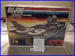 Gi Joe 1985 Uss Flagg AFA 75 Q Aircraft Carrier & Keel Haul! Absolutely Beatiful