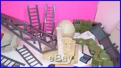 Gi Joe USS Flagg Giant Parts Lot Vintage 1985 Hasbro Figure Aircraft Carrier