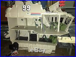 Gi Joe USS Flagg U. S. S. Aircraft Carrier 100% Complete with Box & all 3 Inserts