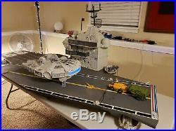 Gi Joe Uss Flagg Aircraft Carrier Complete 1985 Hasbro Original