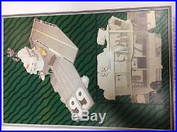 Gi Joe Uss Flagg Aircraft Carrier Hasbro Vintage Near Complete