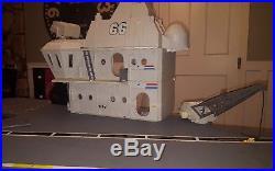 Gi Joe Uss Flagg Aircraft Carrier Not Quite Complete 1985 Hasbro Keel Haul Fc Bp