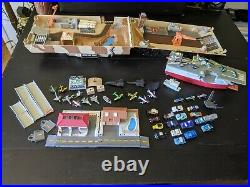 HUGE MICRO MACHINES LOT VintageTank & Aircraft carrier Military, Cars, planes