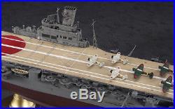 Hasegawa 1/350 IJN Aircraft Carrier Hiyo Plastic Model Kit, #40096