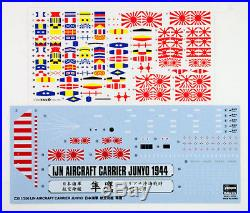 Hasegawa Z30 Imperial Japanese Navy IJN Aircraft Carrier Junyo 1/350 scale kit