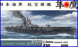Imperial Japanese Navy Aircraft Carrier Junyo Hasegawa 1/350 Kit Z30