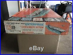 Itc U. S. S. Enterprise Atomic Aircraft Carrier Ship Plastic Model Kit