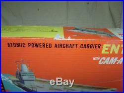 Itc (ideal) Cam-a-matic Uss Enterprise Aircraft Carrier R1