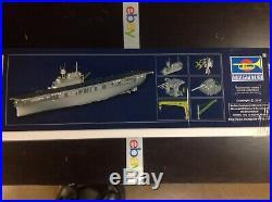 Khs 1/200 Trumpeter Model Kit #03711 Uss Yorktown Cv-5 Aircraft Carrier