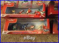 Large Disney Planes And Fire Rescue Lot aircraft carrier ship New Sealed Nib