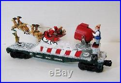 Lionel Santas Sleigh Aircraft Carrier Searchlight Christmas Train O ga Cstm DTI