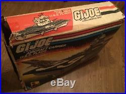 Local pickup GI Joe ORIGINAL BOX only USS Flagg Aircraft carrier Ship