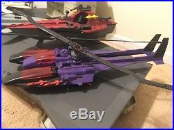 MEGA LOT GI Joe USS flagg flag aircraft carrier action figure jets boat hasboro