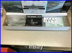 MRC/GALLERY 1/350 SCALE AIRCRAFT CARRIER USS INTREPID CV-11, NEW in OPEN BOX