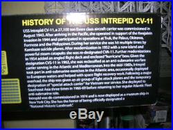 MRC Intrepid CV-11 USS / U. S. S. Essex-class 13 50 Kit 64008 Aircraft Carrier