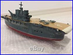 Marusan Toys Tin Aircraft Carrier BattleShip Military / War ship Model D48