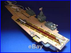 Marx Warship AIRCRAFT CARRIER with AUTOMATIC ACTIONS MANUAL OPERATIONS 1960's
